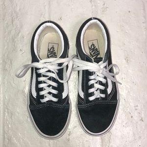 Kids Vans Old Skool Black & White SZ 1